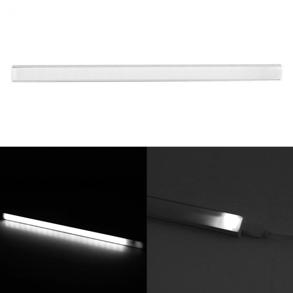 <font><b>LED</b></font> Touch Sensor <font><b>Kitchen</b></font> Cabinet Light 21LEDs USB Vibration Sensor Wardrobe Night Light Lamp DC 5V White Lighting lampe