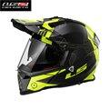 new LS2-MX436 motorcycle helmet Bluetooth dual lens professional off-road helmet best safe helmet Road racing helmet