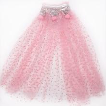 Baby girls princess dress Cape kids bright Shawl Tulle Cape girl clothes Cloak Shawl baby girls vestido kids dresses for girls