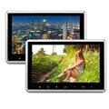 2 pçs/lote HD 1080 P Tela TFT Digital Monitor de Encosto de Cabeça Do Carro Com 1024*600 Falante Embutido Suporte HDMI USB SD HDMI Jogos Remoto