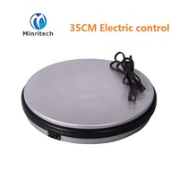 Dia 35CM H6cm Plastic Electric Rotation Retail Store Display Turntablefor Store Product Display