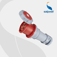 2015 New Hot Industrial Waterproof IP67 CEE plug and socket 400V 125A,SP1450