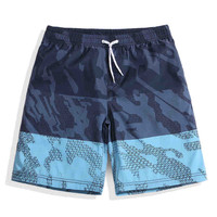 Men Women Boardshort Surf Shorts Quick Dry Couple Beach Wear Feminino Bermuda Plus Size Swimwear Sea Vacation Camouflage Printed