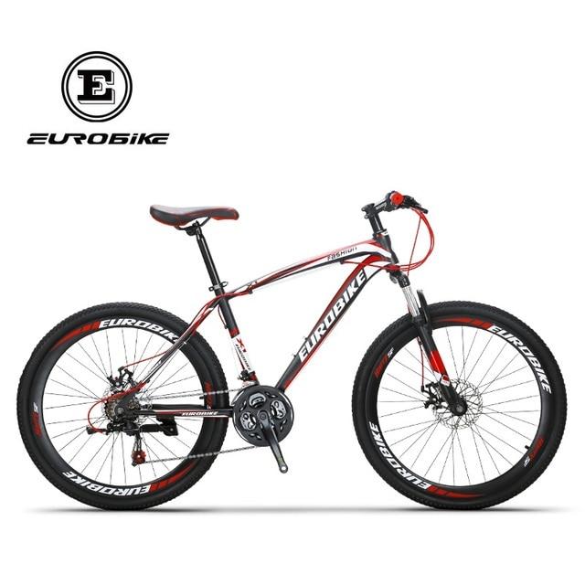 bf8c572f939 EUROBIKE X1 Mountain Bike 26 MTB Bicycle 21 Speed Dual Disc Brake-in ...