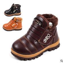 Crianças de moda botas clássico outono inverno martin botas crianças quente botas de neve do bebê das meninas dos meninos tamanho 21-30 tênis sapatas dos miúdos