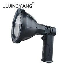 Портативный прожектор 12 В T6 светодио дный Spotlight для охоты, кемпинга, полиция, рыбалка, открытый 12 В поиск автомобиля свет