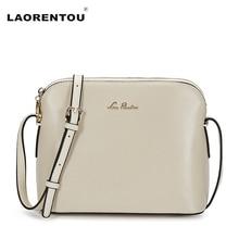 LAORENTOU 100% Echtes Leder Messenger Bags Für Frauen Tasche Mode Frauen Umhängetasche Damen Luxus Design Frauen Umhängetasche