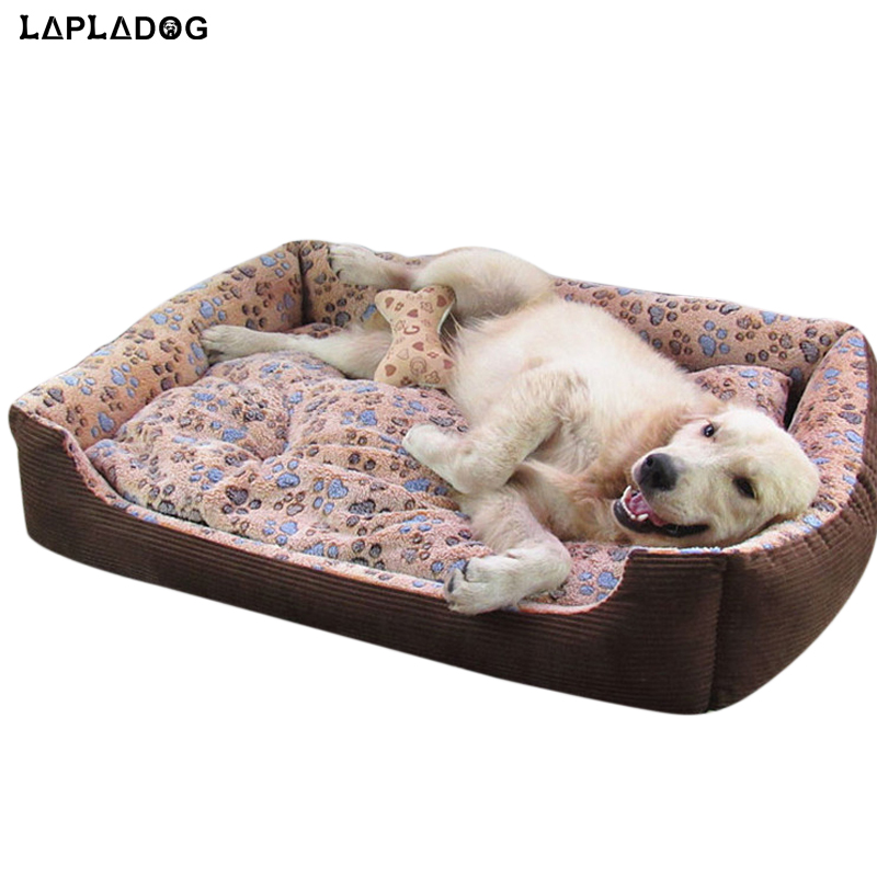lapladog double sided available large dog bed small medium dog pet house warm soft waterproof cat mat big dogs home kennel zl376 - Dog Beds For Large Dogs