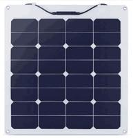 GGX ENERGY 50W 18V Sunpower Flexible Portable Solar Cells Panel for Boat/Yacht/Car/Motorhome/Camper