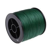 Hot Sale Supper Strong 1000M Braided Wires 100 Pe Fiber Fishing Line Spectra Green 4 Strands