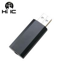 ES9018K2M USB נייד DAC HIFI מפענח 32bit 192 kHZ כרטיס חיצוני אודיו מגבר AMP