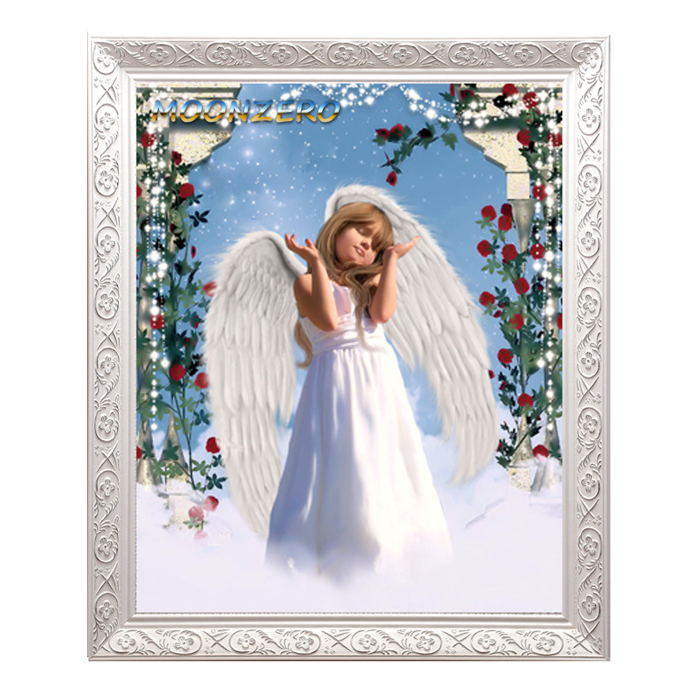 Diy diamond painting cross stitch crystal square mosaic sets full diamond embroidery handicraft needlework hobby Heavenly Host