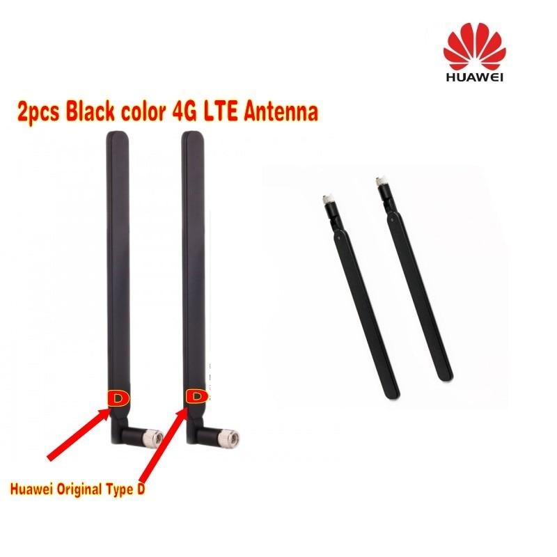 HUAWEI Originale 4G LTE Externe 2x Antenne pour B593 B890 B880 SMA D-type Noir