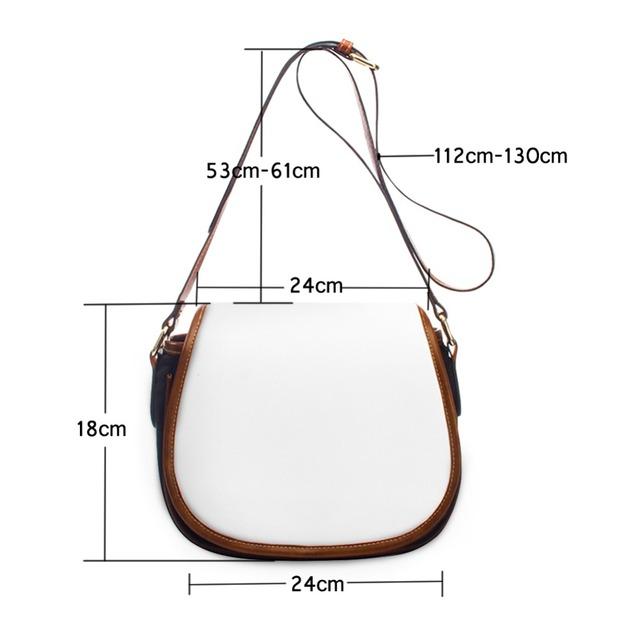 FORUDESIGNS Fashion Women Cross Body Bags Leisure Mini Flower Printing Ladies Zipper Sling Bags for Girls Female Purse Satchel