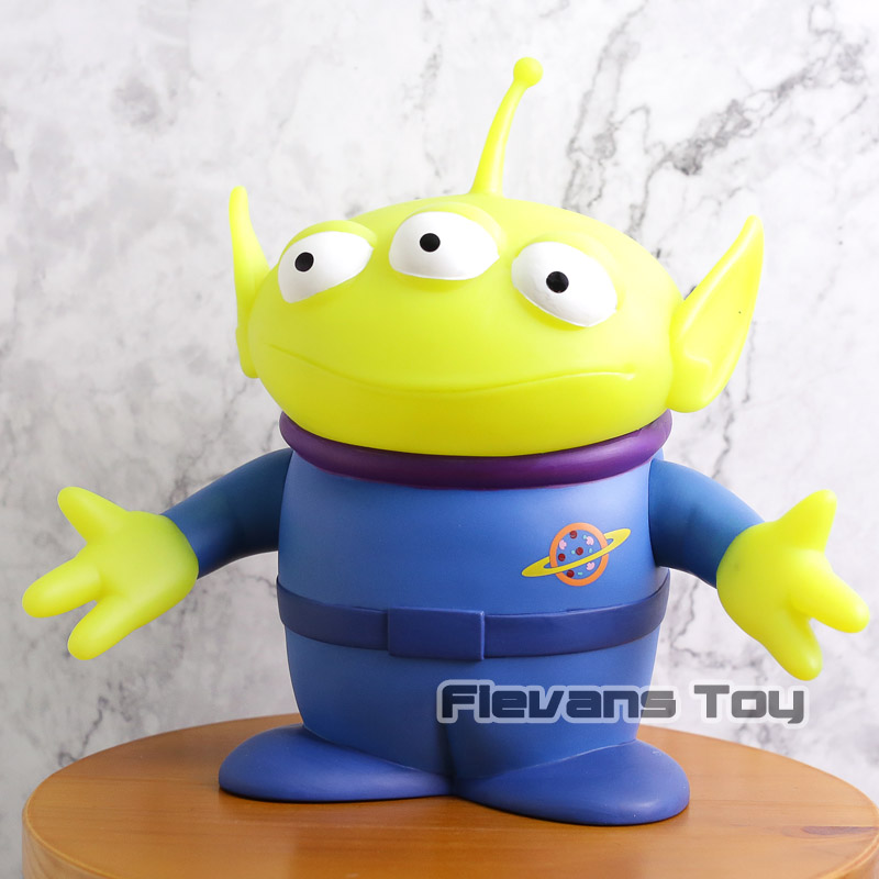 Classic Cartoon Movie Toy Story Alien PVC Figure Collectible Model Toy Piggy Bank Gift for Kids Children 8 20cm toy story hamm piggy bank pink pig coin box pvc model toys for children kid birthday gift