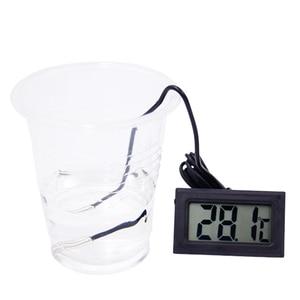 Image 2 - 50 шт./лот Мини цифровой ЖК термометр, датчик температуры, термометр для холодильника, морозильной камеры 10%