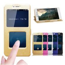 For Xiaomi Redmi Y3 Case 6.26 Flip Quick Answer Cover Window View Leather Cases For Xiaomi Redmi Y3 Y 3 Phone Bag Capas RedmiY3