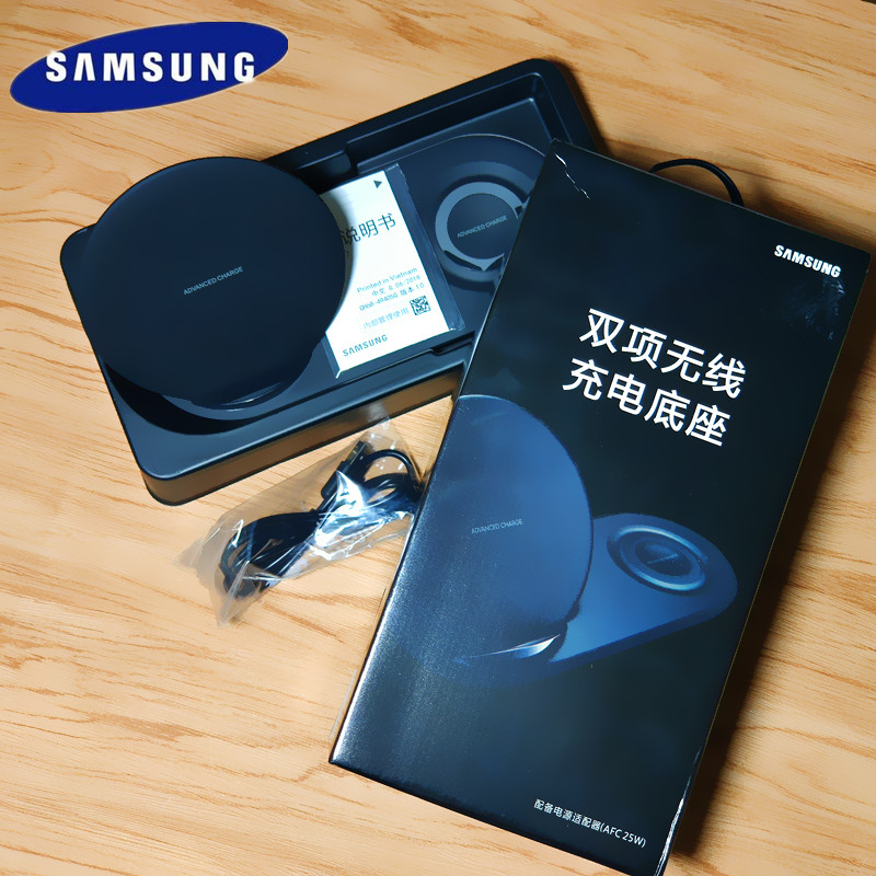 Original Samsung Fast Wireless Charger Duo Dock Dual EP-N6100 For Galaxy Note 9 8 S9 S10 Quick Charging Adapter EP-N6100TBCGCNOriginal Samsung Fast Wireless Charger Duo Dock Dual EP-N6100 For Galaxy Note 9 8 S9 S10 Quick Charging Adapter EP-N6100TBCGCN