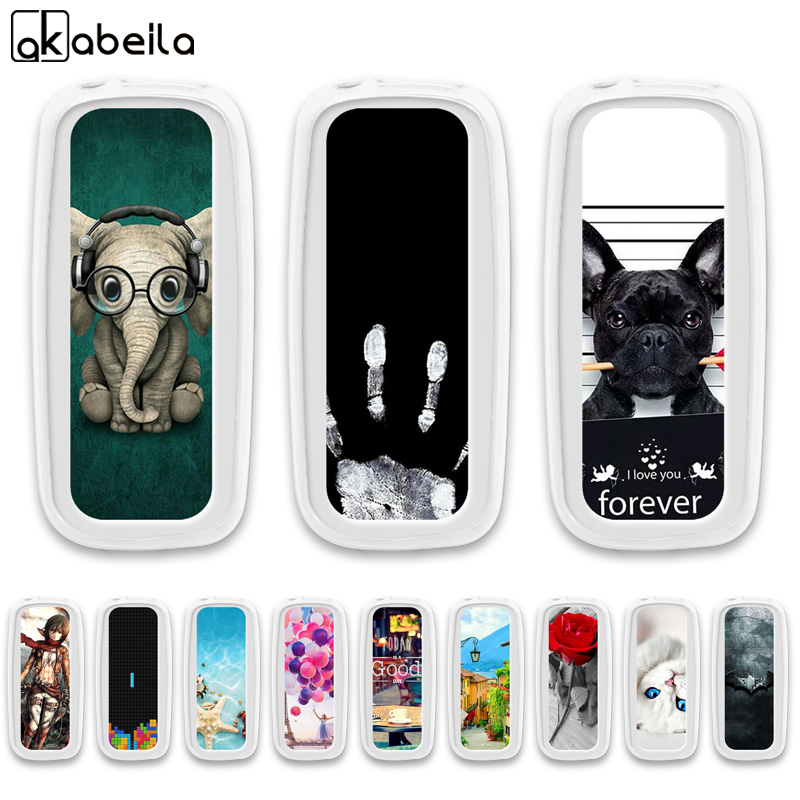 AKABEILA <font><b>Cases</b></font> Soft TPU For <font><b>NOKIA</b></font> <font><b>105</b></font> <font><b>2017</b></font> Silicone For <font><b>Nokia</b></font> <font><b>105</b></font> <font><b>2017</b></font> TA-1010 1.8 inch <font><b>Case</b></font> Covers Housing Shell Bags image