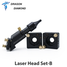 High Quality CO2 Engraver Cutter Laser Head Set 50.8mm Focal Focus Lens Mirror Integrative Mount Free Shipping цены онлайн
