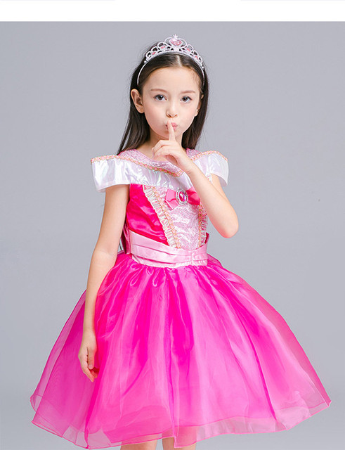 Princess Dress For Girl Fancy Cosplay Costume Children Clothing Girl ...