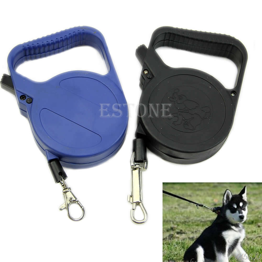 Automatic 3M Retractable Puppy Dog Pet Leash Lead Walking Traction Safety Rope