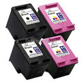4Pk For HP 61 Cartridge For HP Deskjet 1050 1050A 1000 2000 2050 2050A 3000 3050 3050A 3510 Printer Ink Cartridge for HP 61xl