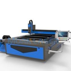 MATTINO macchina di taglio laser in fibra per il taglio di tubo quadrato, tubo tondo, piatto per il taglio di acciaio inossidabile, in acciaio al carbonio, alluminio