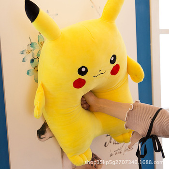 Kuscheltier Pikachu cushion girl pillow Pokemons stuffed animal plush toys soft dolls plush Pikachu stuffed Pokemons children gift girl R140