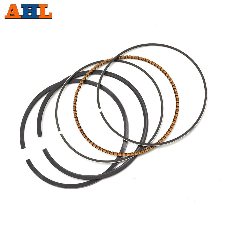 STD + 25~100 BORE 38~39mm Piston Rings for <font><b>Honda</b></font> DIO50 Z4 AF54 AF55 AF56 AF57 <font><b>AF58</b></font> AF61 AF62 Ruckus NPS50 <font><b>Zoomer</b></font> 2002-2008 CHF50 image