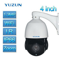 4 Inch Mini 1 3MP 960P IP PTZ Camera Wifi Speed Dome Camera IR Onvif P2P