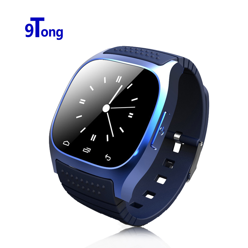 Bluetooth Sport Smart Watch Wristwatch M26 Luxury Wrist Watch with Dial SMS Remind Pedometer for Samsung Huawei Andriod Phone