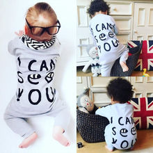 Infant Baby Boys Girls Clothes Long Sleeve Romper Cotton Jumpsuit Playsuit Outfits Boy Girl Clothes