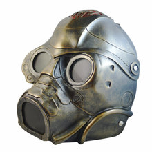 Resin Full Face CS Airsoft Paintball Dummy Gas Mask for Cosplay Protection Halloween Evil Antivirus Skull Festival Decor new classic style tactical head masks full face for nerf cs wargame airsoft paintball dummy protective mask cosplay protection