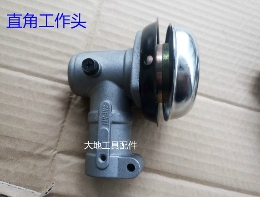 DIA. 28MM SPLINE 9T X 8MM RIGHT ANGLE GEAR CASE WOKING HEAD FOR MOST  GRASS TRIMMER BRUSHCUTTER GRADEN POWER EQUIPEMTS TOOLS trimmer brushcutter gearhead gear head gearbox gear box 28mm 9t spline new aftermarket spare parts