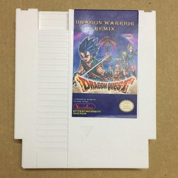 Дракон воин Remix 9 в 1 игровой Картридж для NES, дракон воин я. II. III. IV, Dragon Quest I. II. III. iv