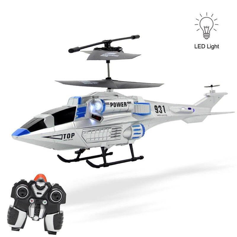 Diseño moderno espacio helicóptero 3.5ch helicóptero de control remoto modelo de
