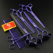 Poetry Kerry Professional Pet Grooming Scissors Set 7 Inch.Dog Shears,Scissors For Dog Grooming,Makas