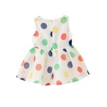 Baby Girl Dress Summer Girls Bow Vest Dress Infant Girl Sleeveless Dot Dress 0 2 Year
