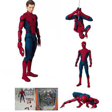 New The Amazing Spiderman Super Heroes Movies Spider Man Action Figure Kids Hobbies the Avengers Toys with Box Gift for Kids