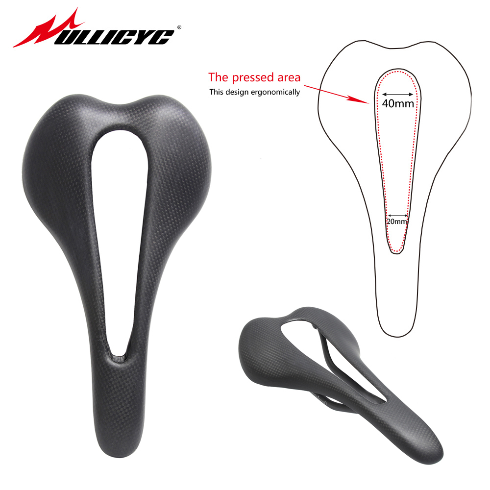 2017 ullicyc no logo carbon saddle titanium bow road bike mountain Road Bicycle Saddle 3K carbon matte black free shipping ZD157 spomann bicycle carbon saddle titanium alloy bow rgonomic design mtb road bike saddle cycling top front seat mat bicycles parts