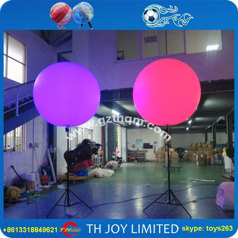 publicidad del globo inflable al aire libreluz globos para eventos nocturnos