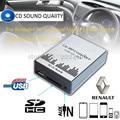 USB SD AUX автомобильный MP3 плеера Адаптер Cd-чейнджер для Avantime Renault 8 12pin Clio Мастер Modus Дейтон Интерфейс, автомобиль для укладки