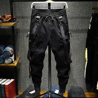 Men High Street Fashion Slim Fit Harem Pant Streetwear Hip Hop Dancing Casual Pant Male Cargo Trousers Joggers Sweatpants
