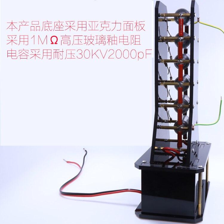 lightnng simulation Marx generator  high voltage generator marxism after marx