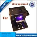 2016 nuevo Mejor calidad A4 Impresora plana UV para La caja del teléfono de cerámica impresión de golf