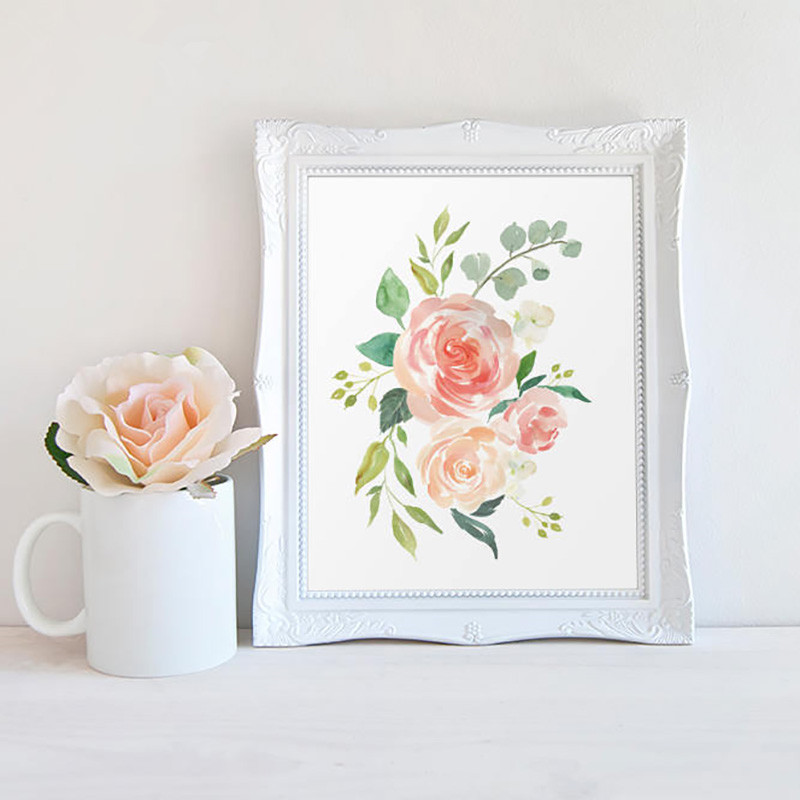 Watercolor-Flowers-Posters-and-Prints-Set-Of-3-Floral-Prints-Nursery-Wall-Art-Pictures-Bedroom-Decoration (4)