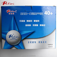 Palio official 40+ 1 star seamless table tennis ball new material ITTF APPROVED training ball wholesale ping pong game ball