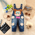 Boys Girls Denim Jeans 2016 kids jeans overall Kids Clothing  Character  Pants Trousers For Baby Boys and Girls