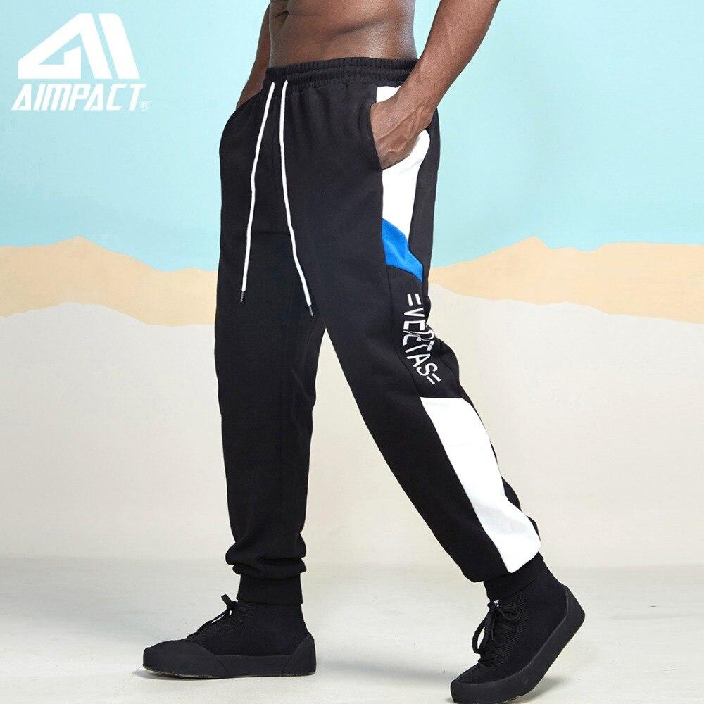 Aimpact Jogger Hosen Für Männer Baumwolle Hip Hop Hipster Jogging Sweatpant Männlichen Aktive Sportliche Trainingsanzug Lose Stil Streetwear Am5051 Gute WäRmeerhaltung